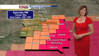 Heat Advisory Continues Saturday