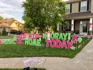 Girl injured by firework donates to Nebraska Med