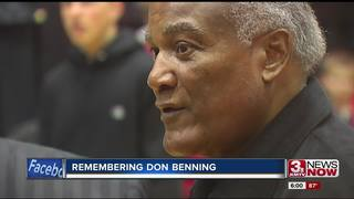 Trailblazer Don Benning laid to rest