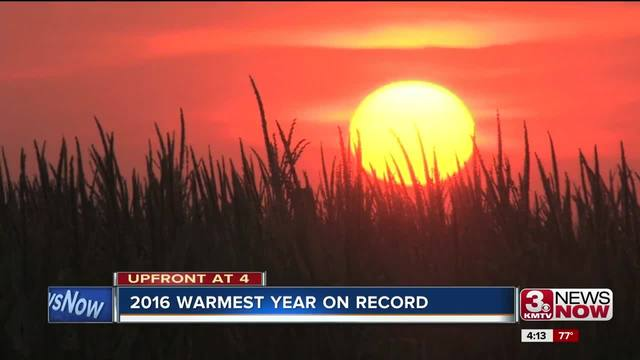 2016 confirmed as hottest year on record