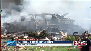 Police release names of house explosion victims