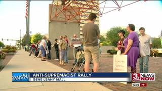 Rally protests Trump response to Charlottesville