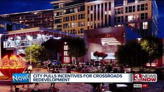 City pulls incentives for Crossroads plan
