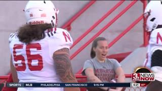Nebraska practices with game-like atmosphere