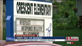 Crescent Elementary celebrates back to school
