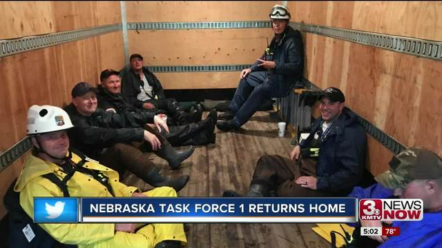 Nebraska Task Force One anticipated to return this week