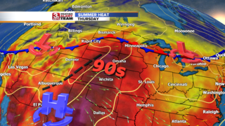 Summer Heat Returns this Week