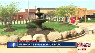 Fremont pop-up park briefly beautifies paved lot