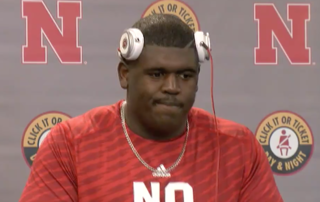 Foster following Huskers' 21-17 loss