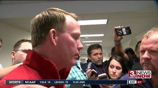 Eichorst speaks after Nebraska loss