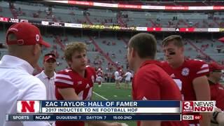 Taylor Inducted into Nebraska Football H.O.F.