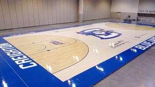 Creighton unveils new court design