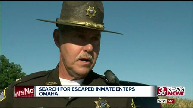 Escaped inmate's vehicle found in Omaha parking lot