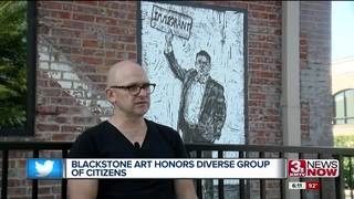 Blackstone artwork inspiring positive change