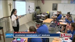 In the Classroom: Mandarin class in high school