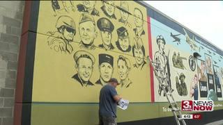 Volunteers help clean up old Veterans Building