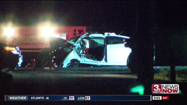 Authorities say 1 person killed, 2 injured in highway crash