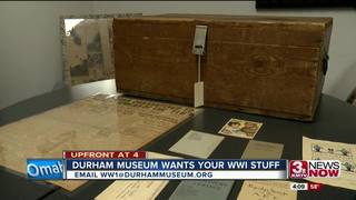 Durham Museum wants your World War I items