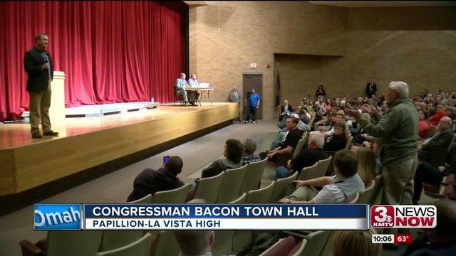 Congressman Bacon holds town hall