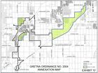 Gretna has public discussion on annexation plan