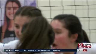 Marian sweeps Bellevue West on Senior Night