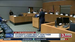 In the classroom: Sarpy County Government Day
