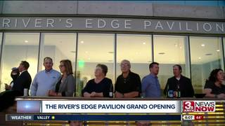 River's Edge Pavilion officially opens