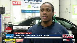 Program gives MCC student ride to bright future