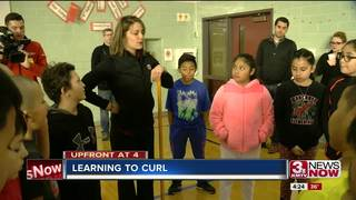 Omaha Curling Club teaches sport to 4th-graders