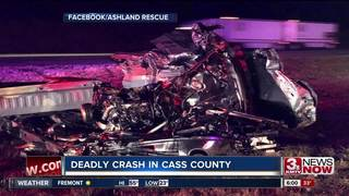NSP investigating fatal Cass County crash