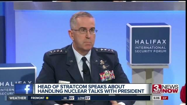 Head of USSTRATCOM speaks on nuclear talks