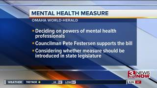 Omaha City Council to take up mental health bill