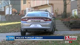 Yutan Police Chief crashes during pursuit