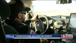 Law enforcement are watching for drunk drivers