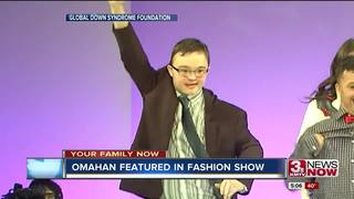 Omahans with Down syndrome model in fashion show