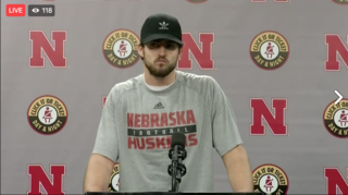 Tanner Lee post game press conference
