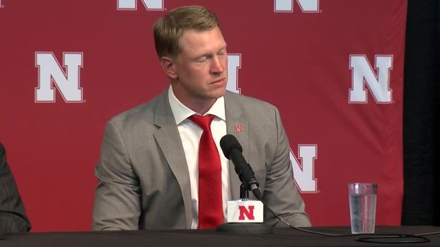 Nebraska Scott Frost and Bill Moos top quotes from press conference